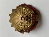 Ordinul Muncii clasa a- III-a RSR, fara cutia originala.