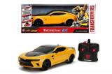 Masinuta radiocomandata Transformers Chevy Camaro Bumblebee scara 1:16, Simba