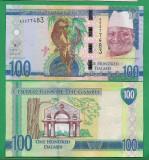 = GAMBIA - 100 DALASIS – 2015 - UNC   =