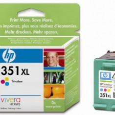 Cartus cerneala HP 351XL (Color - de mare capacitate)
