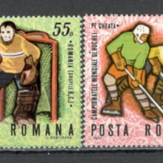 Romania.1970 C.M. si C.E. de hochei pe gheata   HR.145