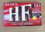 Caseta audio SONY HF 60 sigilata