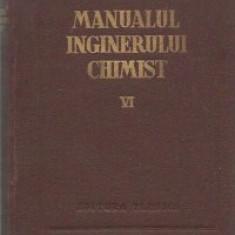 Manualul inginerului chimist, VI - Combustia, combustibilii si chimizarea lor
