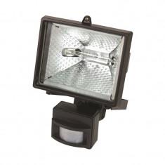 LAMPA HALOGEN PERETE CU SENZOR DE MISCARE 150W / 220V