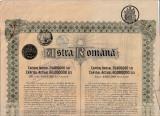 Actiuni Astra Romana 500 lei + 17 cupoane ptr. dividende_nr. 66974