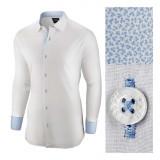 Camasa pentru barbati alba regular fit bumbac casual Business Class Ultra II