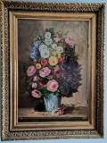 Tablou vas cu flori, Pastel, Altul