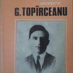 AMINTIRI DESPRE G. TOPARCEANU - COLECTIV