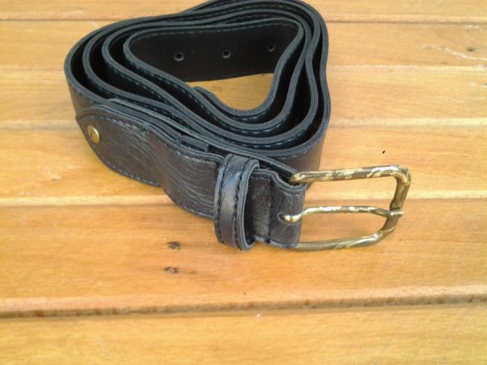 Centura - Curea, neagra, 123 cm