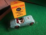 Bnk jc ATLAS / DINKY 111 TRIUMPH TR2 SPORTS  - 1/43 - in cutie, 1:43