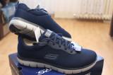 SKECHERS, adidasi barbati, model Flex Advantage Dayshow 52125/NV, noi., 43, Bleumarin