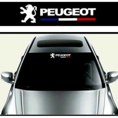 Sticker parasolar auto Peugeot