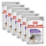 Cumpara ieftin Royal Canin Sterilised Dog Loaf pliculeț cu pate pentru câini castrați 6 x 85 g, 5+1 GRATUIT