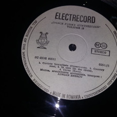 Disc vinil, vinyl pickup,ADRIAN ENESCU,Funky Synthesizer 2,NEFOLOSIT,Tra.GRATUIT