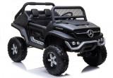 Masinuta electrica Mercedes Unimog, negru