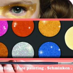 Culori make up non alergice Djeco metalic
