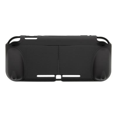 Husa grip DELTACO GAMING pentru Nintendo Switch Lite, functie suport, negru foto