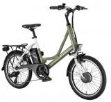 Bicicleta electrica cu cadru aluminiu ZT-73 COMPACT VERDE