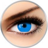 Fantaisie UV Glow Blue - lentile de contact pentru Halloween anuale - 365 purtari (2 lentile/cutie)