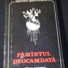 PAMINTUL DEOCAMDATA-ADRIAN PAUNESCU-220PG-
