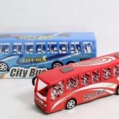 Jucarie Autobuz City Bus 2253G, Albastru