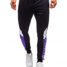 Pantaloni de trening bărbați negru Bolf 6823