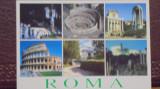 ITALIA - ROMA - 6 FOTOGRAFII CU CLADIRI MONUMENT DIN CAPITALA 5 - NECIRCULATA.