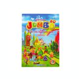 Cumpara ieftin Carte de colorat cu alfabet, cifre, fructe, legume, culori si abtibilduri, A4 80 pagini Eurobookids vol. 2