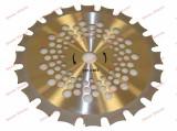Disc taietor motocoasa 255 x 40Tx 25.4mm NAKAMURA (dinti dubli)