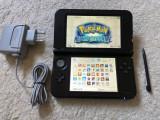 Nintendo 3DS XL MODAT cu jocuri pe card POKEMON X Y,MARIO,4 x ZELDA