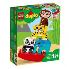 Set de constructie LEGO DUPLO Primul meu balansoar cu animale