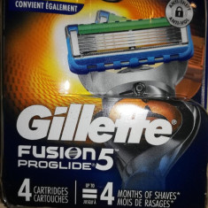 Rezerve Gillette Fusion Proglide power set 4 buc ( made in USA)