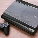Consola Sony PlayStation 3 PS3 Super Slim 320Gb impecabil + 2 jocuri