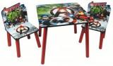 Set masuta si 2 scaunele Fun Time Avengers