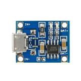 Modul incarcare baterie LiPo cu TP4056 mufa Mini USB, MD7019