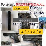 Pachet PROMOTIONAL Taurus- Beretta METAL 4Joules airsoft, Cyber Gun