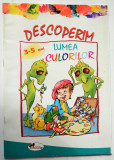 Descoperim lumea culorilor - 3-5 ani   Ed. Aramis