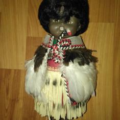 PAPUSA  NEGRESA  AFRICANA IN COSTUM ORIGINAL CU PENE