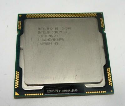 Procesor intel i3-540 socket 1156 + pasta foto