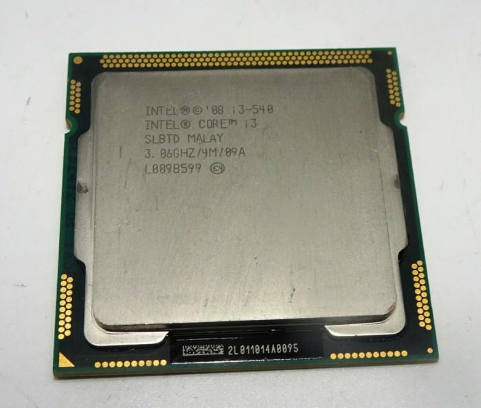 Procesor intel i3-540 socket 1156 + pasta