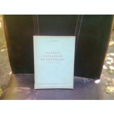 CALCULUL CANALELOR DE VENTILARE - G.A. MAXIMOV