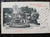Carte postala clasica Salutari din Herculane, vila Miramonte, circ.1900,perfecta, Circulata, Printata