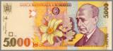 ROMANIA 5000 LEI 1998 - AUNC/UNC