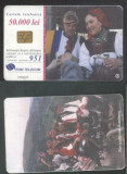 Romania 2000 Telephone card Folk costumes Rom 84 CT.051