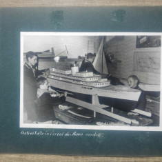 Pionieri la cercul Navomodele// fotografie
