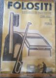 """Afis romanesc comunism """"Folositi ecranul de protectie, carligul si peria"""""""