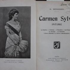 CARMEN SYLVA INTIME - G. BENGESCO