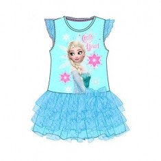 Rochie pentru fetite Frozen-Sun City PH1032, Albastru