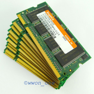 Memorie laptop DDR1 512mb Hynix 333Mhz PC2700 (NOU)