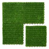 Placa iarba sintetica, 30×30 cm ,verde